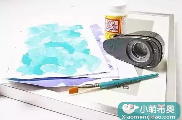 小萌希奥一陪孩子做一副洋装画吧!