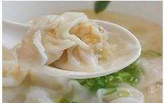 月子汤谱:虾仁馄饨汤