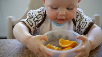 宝宝的口味从加辅食开始培养