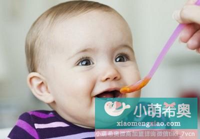 婴儿辅食添加时间表