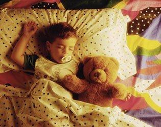 如何让宝宝晚上睡个安稳觉